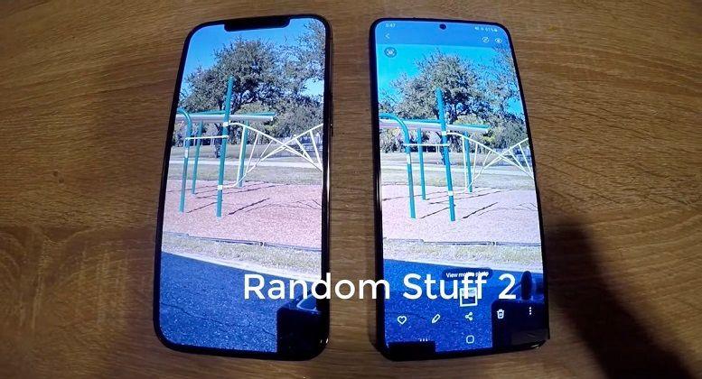 Lộ video Galaxy S21+ đọ dáng cùng iPhone 12 Pro Max