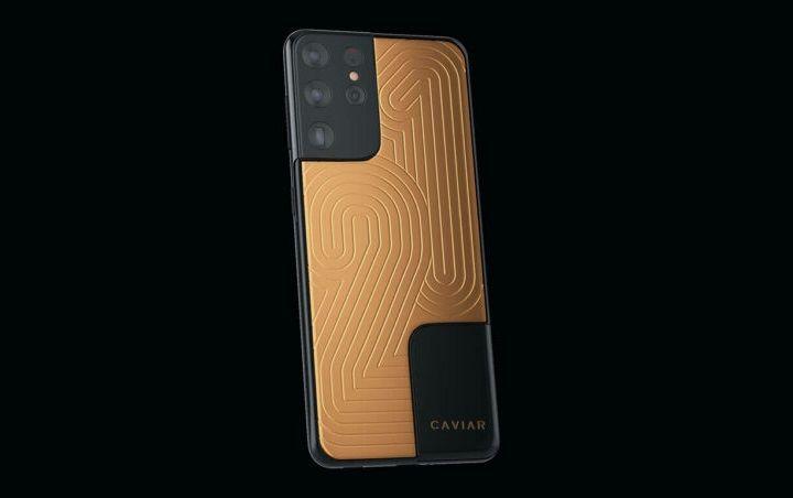 """Ngắm Galaxy S21 Ultra phiên bản """"siêu sang"""" giá gần 2 tỷ đồng"""