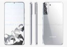 Thiết kế Galaxy S21+ lộ diện rõ nét trong hình ảnh và video render 360 độ