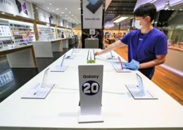 Samsung dẫn đầu thị trường smartphone toàn cầu quý 3/2020