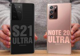 So sánh Galaxy S21 Ultra và Note20 Ultra: Liệu có đáng nâng cấp?