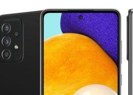 Galaxy A52 5G lộ ảnh render chính thức đầu tiên