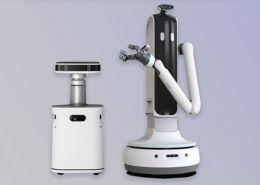 """Samsung ra mắt robot """"osin"""": Rửa bát, dọn bàn ăn, rót nước cho chủ nhân"""