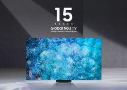 Samsung là thương hiệu TV số 1 thế giới năm thứ 15 liên tiếp