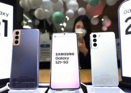 Galaxy S21 giúp Samsung vượt qua Apple về doanh số smartphone trong tháng 2/2021