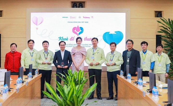 Nhân viên Samsung Việt Nam chung tay hiến máu, chia sẻ yêu thương