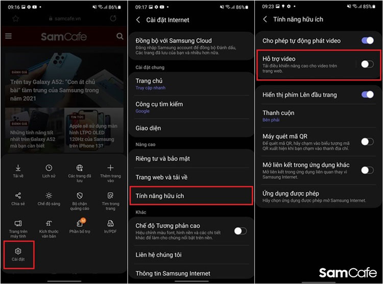 7 lý do cho thấy Samsung Internet là trình duyệt di động tốt nhất hiện nay