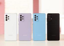Samsung ra mắt GalaxyA52, A52 5G và A72