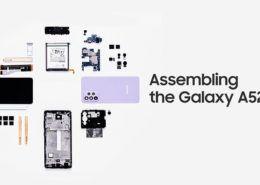 Samsung tung video lắp ráp và giải thích các tính năng trên Galaxy A52
