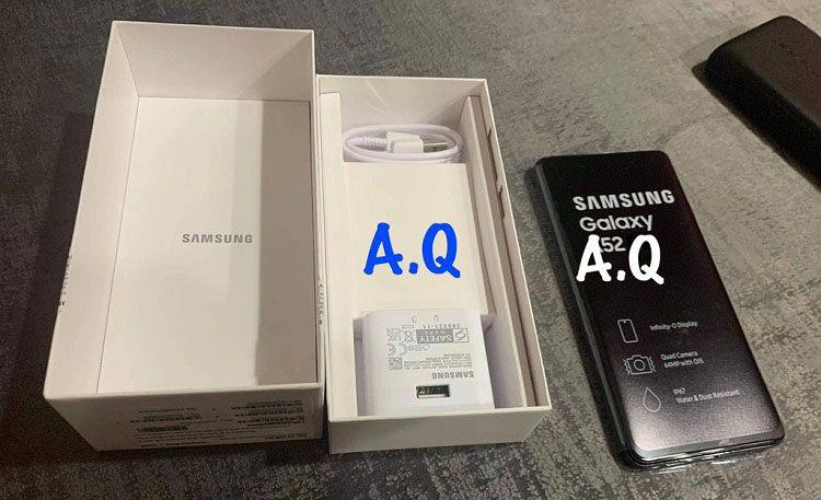 Trên tay Galaxy A52