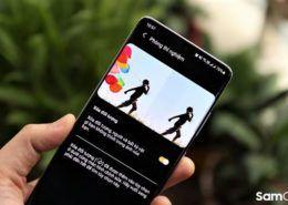 Xóa đối tượng trên điện thoại Samsung