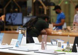 Samsung dẫn đầu thị trường smartphone toàn cầu trong Q1/2021