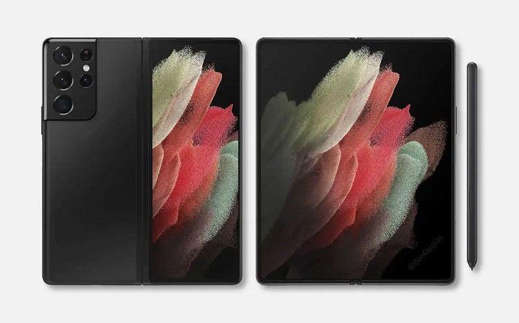 Galaxy Z Fold 3 sẽ hỗ trợ S Pen, nhưng không có khe cắm bút như Galaxy Note