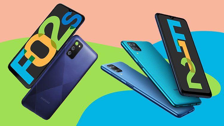 Samsung ra mắt Galaxy F02s và Galaxy F12