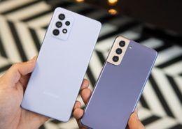 Galaxy A72 và Galaxy S21 5G