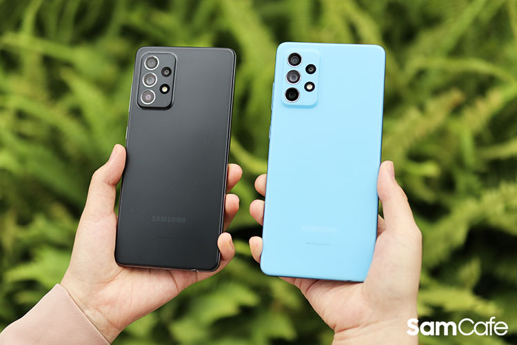 Galaxy A52 5G và Galaxy A72