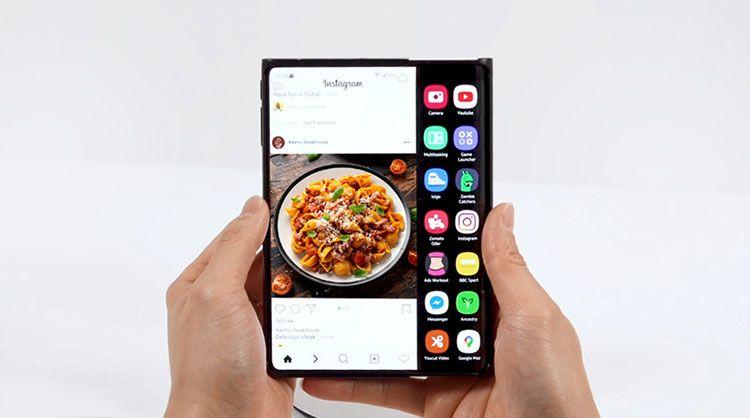 Màn hình cuộn Samsung