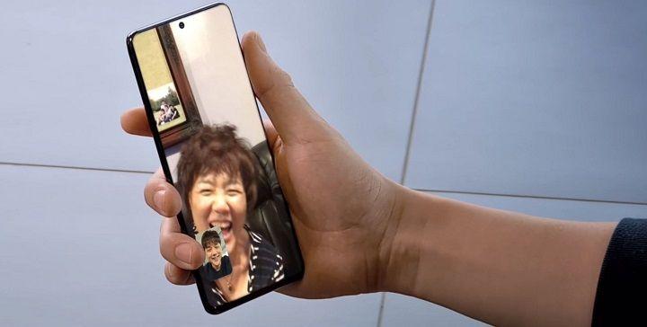 Galaxy S20 Google Duo