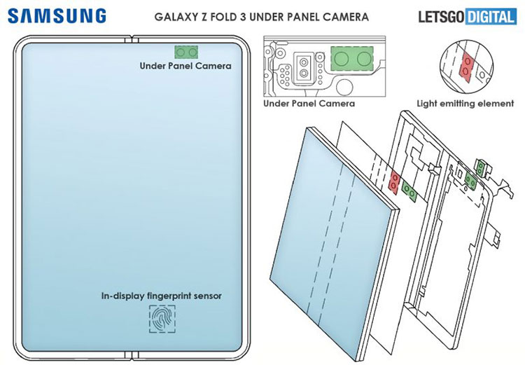 Galaxy Z Fold 3 Concept