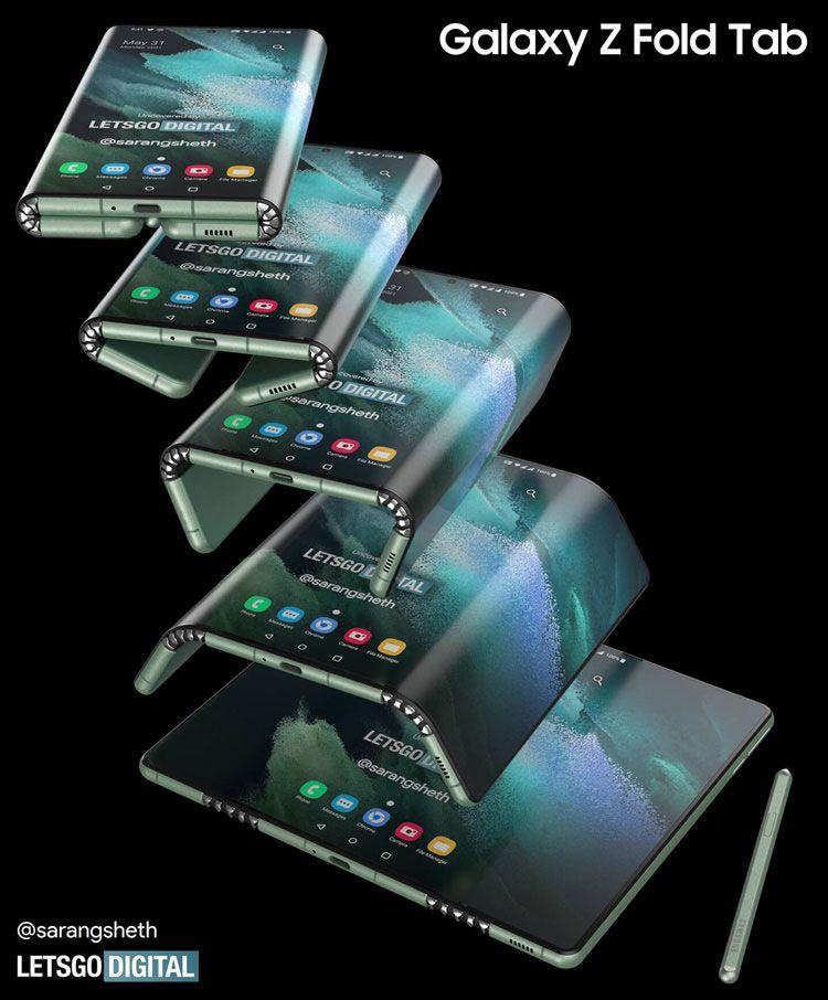 Galaxy Z Fold Tab