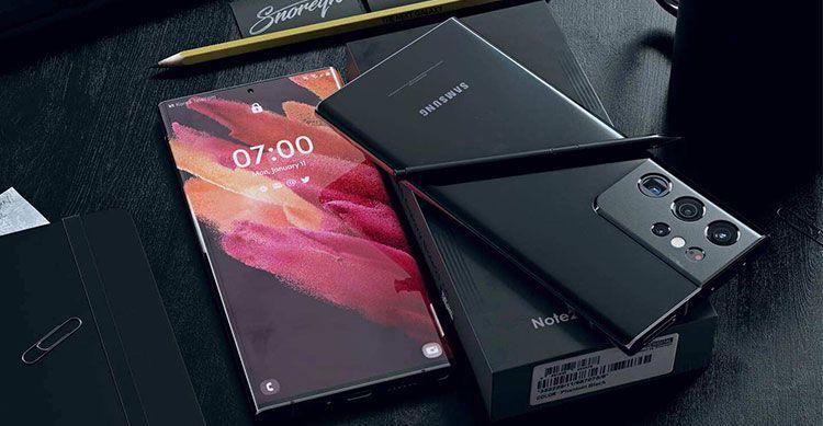 Galaxy Note 21 Concept