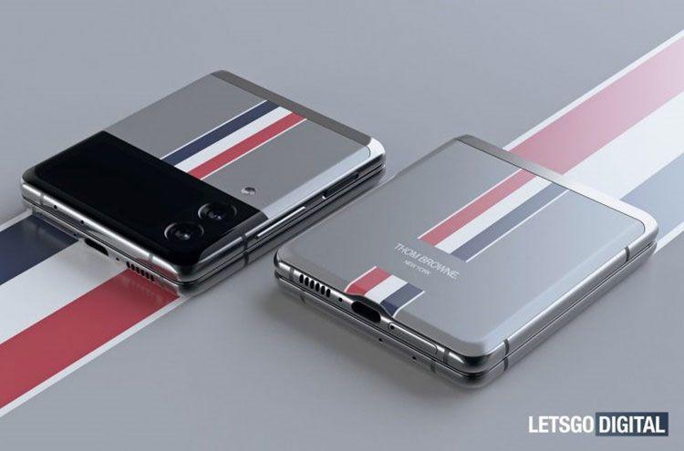 Galaxy Z Flip 3 Thom Browne