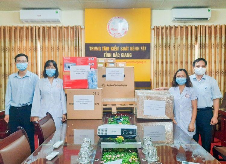 Samsung Việt Nam ủng hộ tỉnh Bắc Giang vật tư và thiết bị y tế trị giá 6 tỷ đồng phòng chống dịch COVID-19