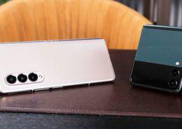 Galaxy Z Fold 3 và Galaxy Z Flip 3