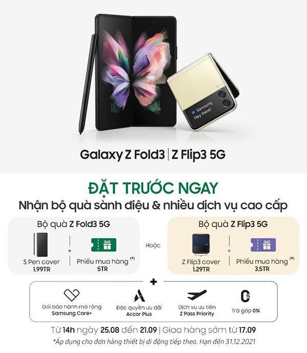 Galaxy Z Fold3 | Z Flip3 5G